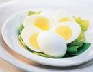 Trứng luộc giúp cơ thể hấp thu 100% dưỡng chất