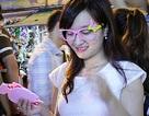 Teen nữ Hà thành hóa trang chơi Trung thu sớm