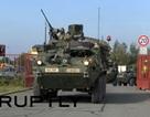 Đoàn xe quân sự Mỹ bắt đầu hành trình ở các nước Đông Âu