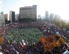 """""""Biển người"""" xuống đường đòi Tổng thống Hàn Quốc từ chức"""
