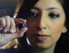 Chiêm ngưỡng viên kim cương xanh quý hiếm trị giá 35 triệu USD