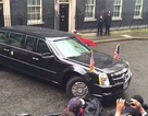 Tài xế của Obama quay đầu hoàn hảo trên đường hẹp ngoài Phủ thủ tướng Anh