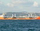 Tàu chở dầu Nga bốc cháy trên biển Caspi