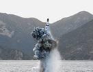 Tên lửa Triều Tiên phóng từ tàu ngầm nổ tung ở độ cao 10 km
