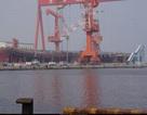 Lộ ảnh tàu sân bay tự chế đầu tiên của Trung Quốc
