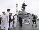 Bộ trưởng Quốc phòng Nhật Bản thăm tàu sân bay Mỹ chưa đầy một tháng sau khi nhậm chức