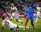 Pháp cay đắng chia điểm nhạt nhòa trước Belarus