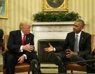 Ông Donald Trump lần đầu tới Nhà Trắng gặp Tổng thống Obama