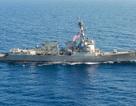 Tàu khu trục của Mỹ cập cảng Cam Ranh