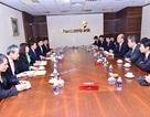 Ban lãnh đạo Vietcombank tiếp đoàn Ngân hàng Mizuho