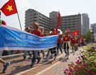 Người Việt tại Fukuoka, Hiroshima tuần hành phản đối Trung Quốc
