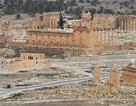 Toàn cảnh thành cổ Palmyra nhìn từ trên cao sau khi được giải phóng