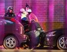 Hiện trường vụ bắn tỉa nhằm vào cảnh sát Mỹ