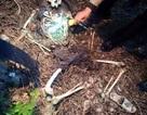 Kinh hãi phát hiện bộ xương người đeo ba lô