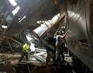 Hiện trường vụ tai nạn tàu điện kinh hoàng ở Mỹ