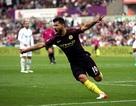 Swansea 1-3 Man City: Dấu ấn Aguero