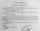 Cục Cảnh sát Môi trường chuyển đơn thư công dân đến Công an TP Hà Nội giải quyết