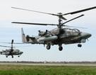 """Trực thăng Ka-52 """"Cá sấu"""" của Nga bắn phá dữ dội các mục tiêu khủng bố"""