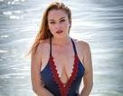 Lindsay Lohan tự tin khoe những vết tàn nhan khắp người