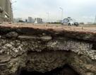 Bê tông cốt xốp ở cầu vượt đường sắt Hà Nội