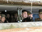 Hình ảnh Kim Jong Un thể hiện vai trò tổng tư lệnh