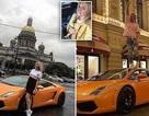 Nga truy tìm chân dài lái siêu xe trên đường của Putin