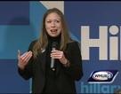 Chelsea Clinton vác bụng bầu vận động tranh cử cho mẹ