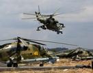 Nga rút 3 trực thăng chiến đấu khỏi chiến trường Syria