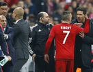 Mất kiểm soát, Diego Simeone bóp cổ Ribery