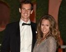 Andy Murray rạng ngời sánh bước bên vợ tới dự tiệc mừng chiến thắng
