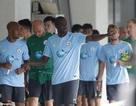 Guardiola chỉ đạo học trò tập luyện trước trận gặp Dortmund