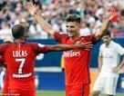 Real Madrid bại trận trước PSG tại đất Mỹ