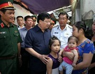 Phó Thủ tướng thăm gia đình một chiến sĩ trên máy bay CASA-212