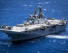 Khu trục hạm Nga bám sát tàu đổ bộ Mỹ