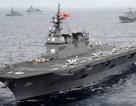 Vì sao Nhật điều tàu khu trục tập trận gần Biển Đông?