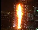 Hỏa hoạn lại bùng phát tại tòa nhà chọc trời ở Dubai