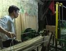 Độc đáo với công nghệ máy dệt mành cọ dùng cho các làng nghề thủ công