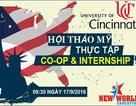 Chương trình thực tập hưởng lương Internship và Co-op Mỹ