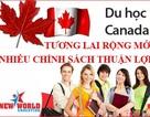 Bùng nổ Du học Canada Visa CES 2016 chương trình Cao đẳng