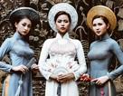 Nữ sinh Hà thành đài các trong tà áo dài dân tộc