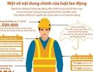 Infographics: Những quyền lợi được hưởng mà người lao động nên biết