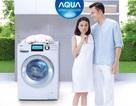 Máy giặt lồng ngang: Đổ đầy khay 1 lần, giặt khoảng 20 lần