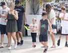 Gia đình Beckham cùng nhau đi tập thể dục