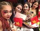 Các cô gái bellydance Việt xuất sắc giành Cúp vàng châu Á