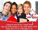 Chọn du học Canada 2016 với nhiều chính sách thuận lợi