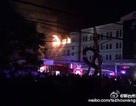Máy bay chiến đấu Trung Quốc lao xuống khu dân cư