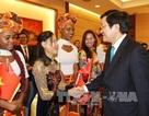 Chủ tịch nước Trương Tấn Sang bắt đầu chuyến thăm Mozambique
