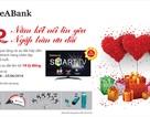 """SeABank khuyến mại """"22 năm kết nối tin yêu – ngập tràn ưu đãi"""""""