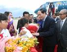 Chủ tịch nước Trần Đại Quang bắt đầu chuyến thăm cấp Nhà nước tới Campuchia