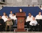 Chủ tịch Quốc hội Nguyễn Thị Kim Ngân phát biểu tại lễ tưởng niệm lãnh tụ Fidel Castro